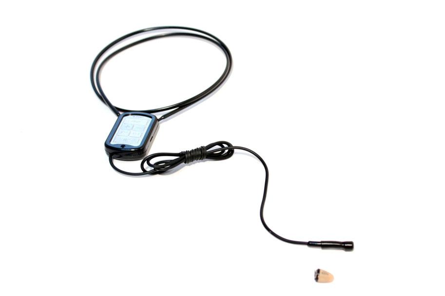 Микронаушник капсула Блютуз с выводным микрофоном