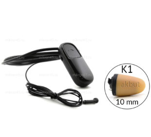 Микронаушник капсула Bluetooth с выносным микрофоном — К1